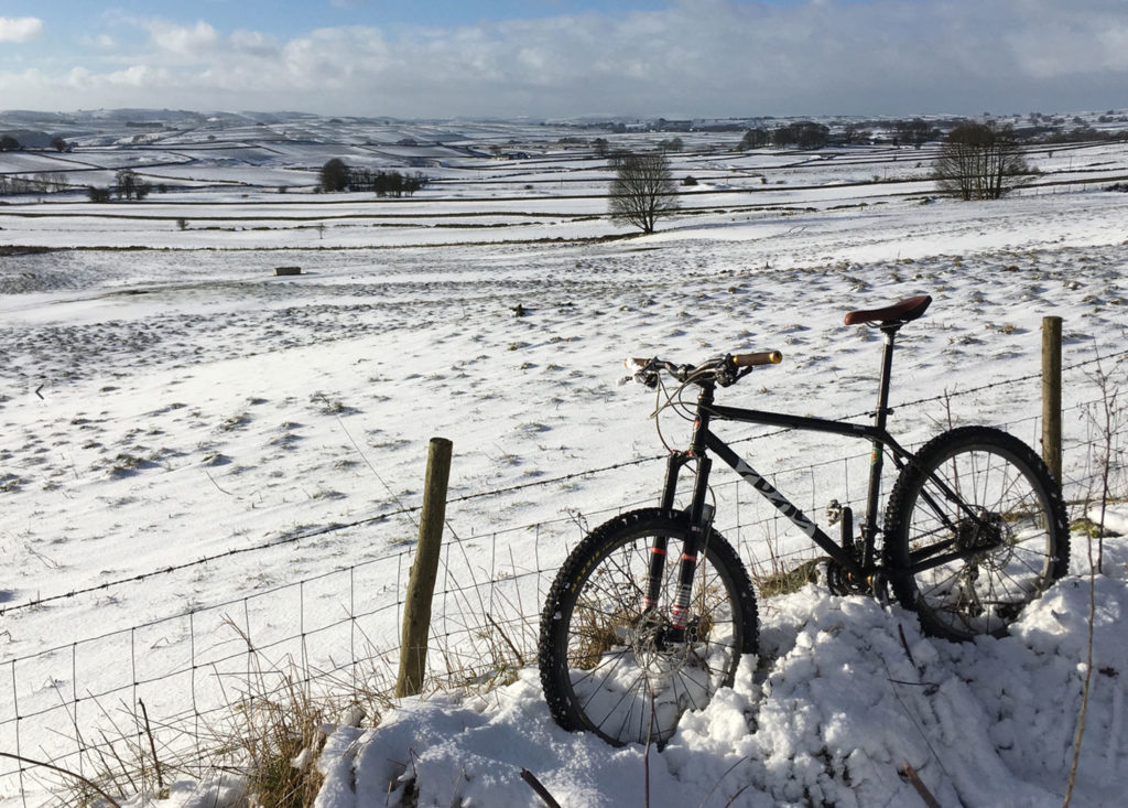 White Peak Winter Route, MTB Route Peak District
