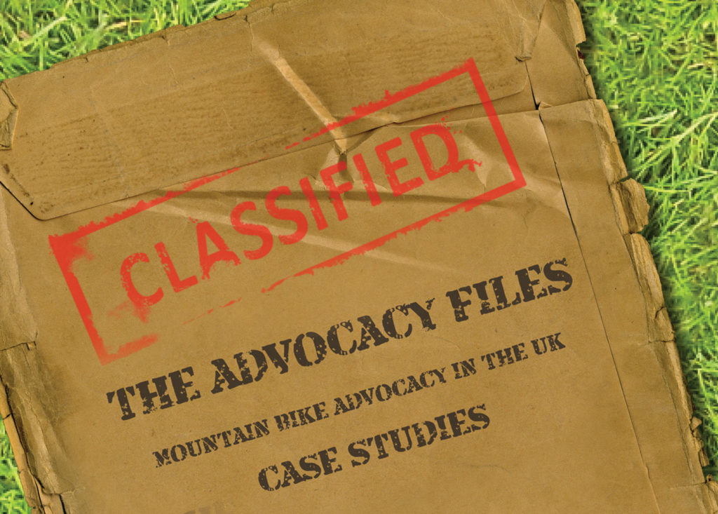 Mountain Biking Advocacy, Peak District Mountain Biking, Advocacy Files