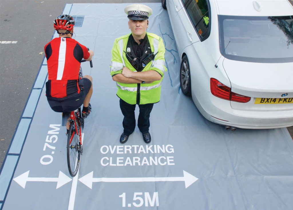 Close pass initiative south yourkshire, peak district cycling