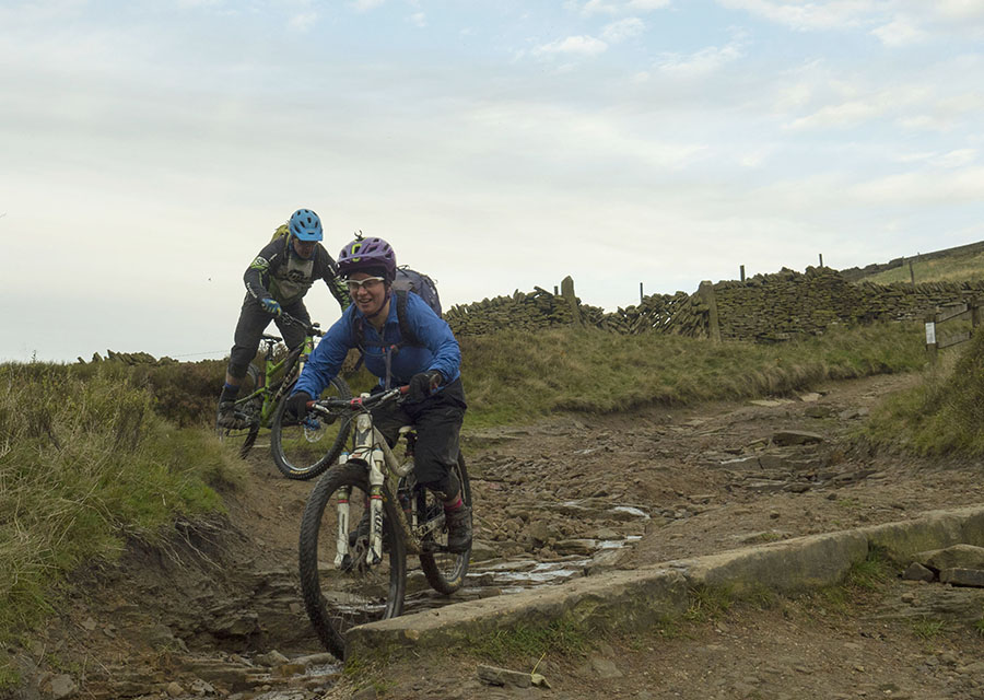 Peak District MTB Northern Edge ride