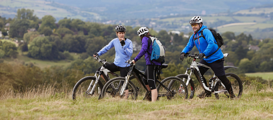 places where you can mountain bike in the peak district