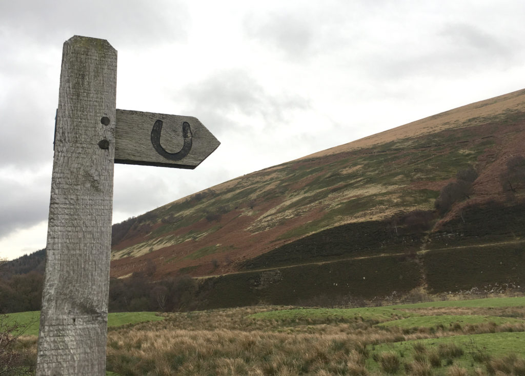 Brisdleway Sign, Peak District MTB, Peak District Mountain Bikers