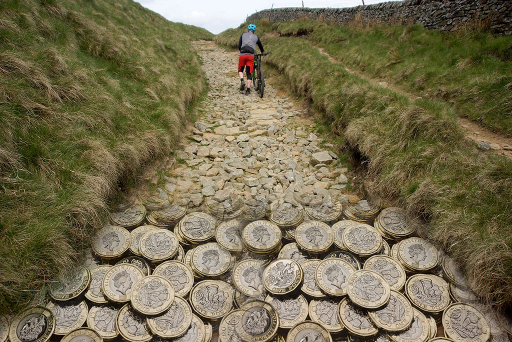 Rushup and chapel gate repair costs DCC - MTB Peak District
