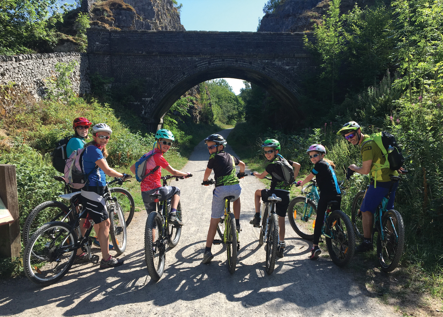 Family Monsal TRail