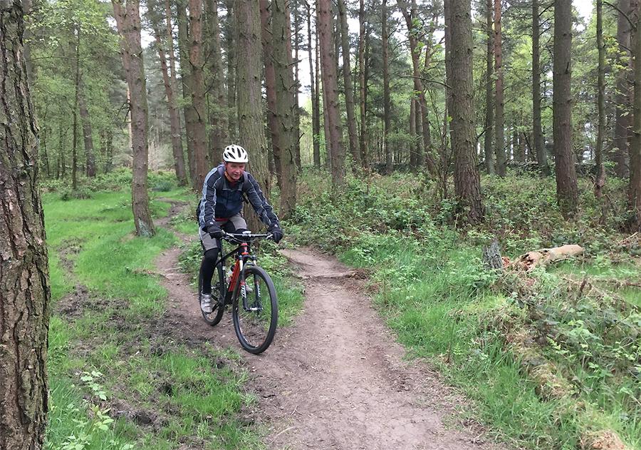 mountain biking peak district, mtb chatsworth